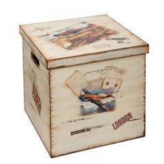 Κουτί βάπτισης με αεροπλάνα