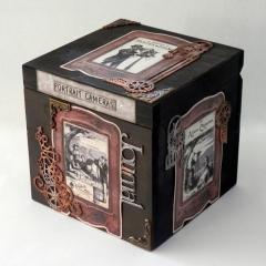 Ξύλινο κουτί για φωτογραφίες