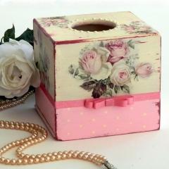 Vintage κουτί για χαρτομάντηλα
