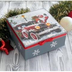 Ξύλινο Χριστουγεννιάτικο κουτί