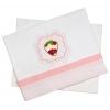 Σεντόνια καλαθούνας Φράουλα Baby Star