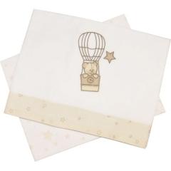 Σεντόνια καλαθούνας Αερόστατο Baby Star