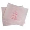 Σεντόνια λίκνου ροζ