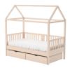 Κρεβάτι με οροφή και συρτάρια 3