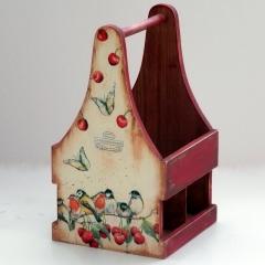 Ξύλινο κουτί για λαδόξυδο